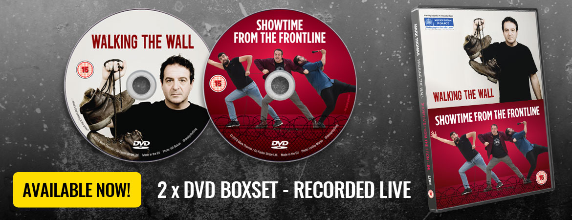 2 x DVD Boxset – Walking The Wall and Showtime From The Frontline – Now available for pre-order
