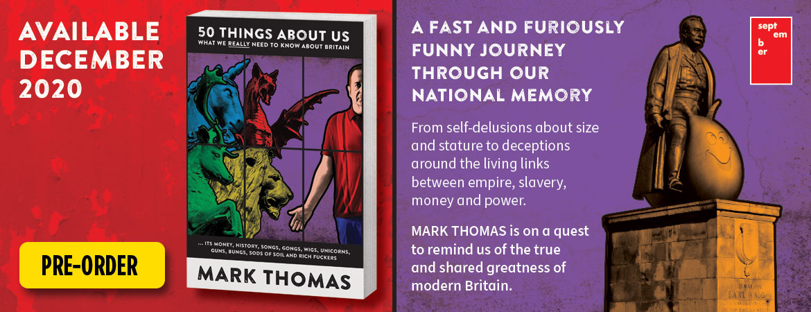 50 Things About Us – Mark's new book. Available December 2020 – Click to pre-order now