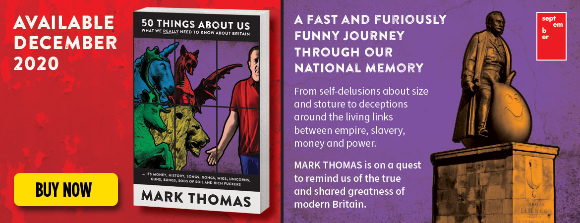 50 Things About Us – Mark's new book. Available December 2020 – Click to buy now